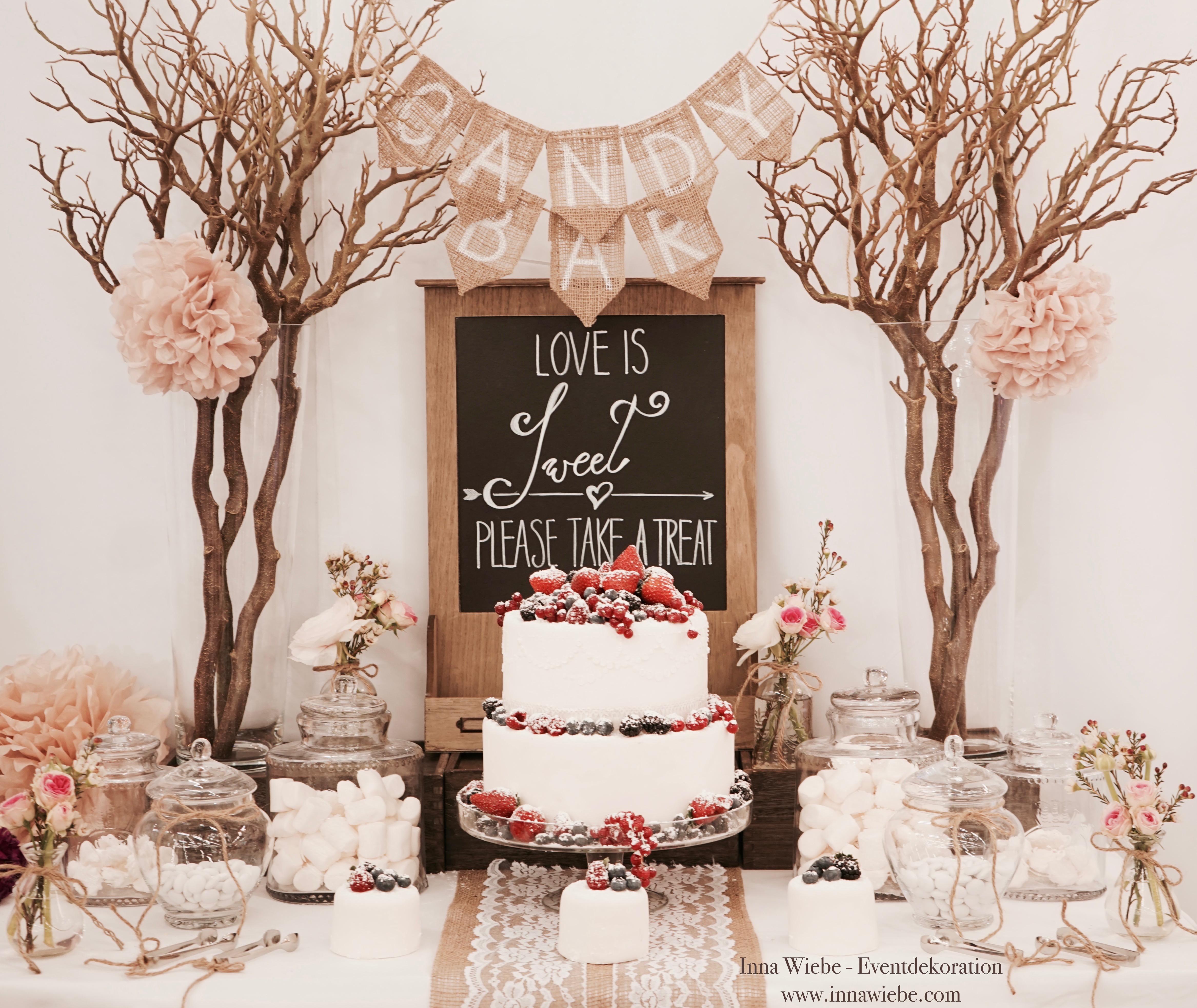 Inna Wiebe Dekoration & Verleih für Hochzeit und Event in München