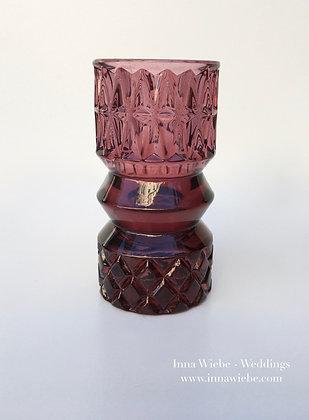 Bordeaux Glasvase Raute