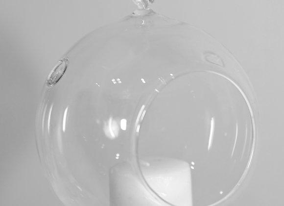 Teelichtkugel zum aufhängen