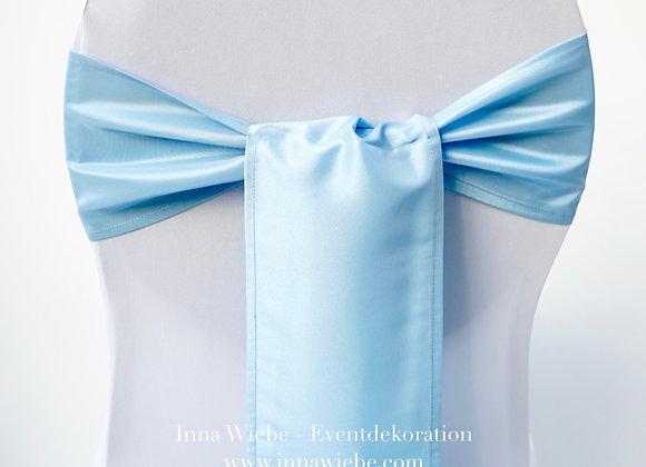 Stuhlstreifen hellblau
