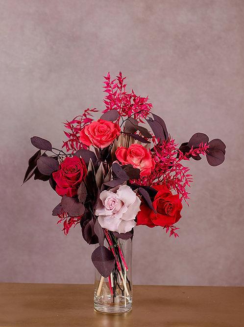 Trockenblumenstrauß Victoria Größe S