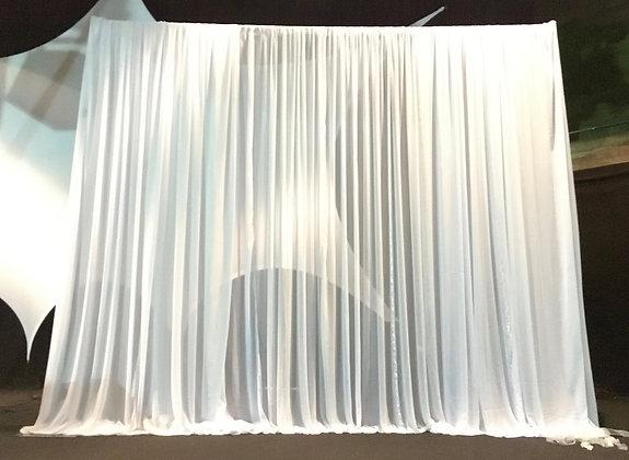 Hintergrundgestell mit Chiffon-Stoff 3D