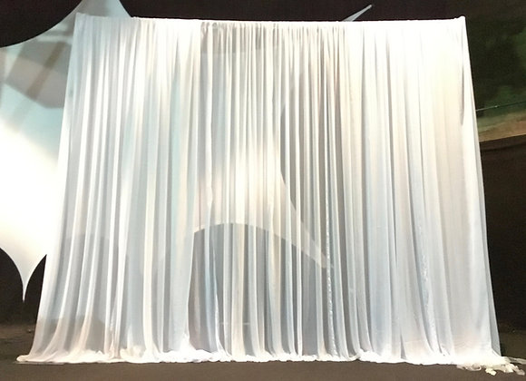 Hintergrundgestell mit Chiffon-Stoff 2D