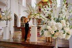 Kirchendeko by Inna Wiebe -Weddings www.