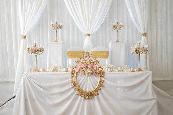 Brautpaartisch