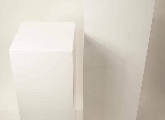 Säule weiß 100 cm
