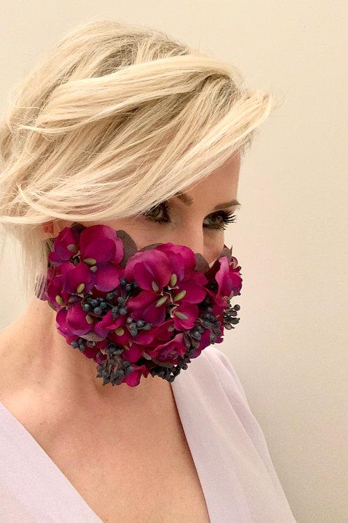 Happy Mask Flower purple