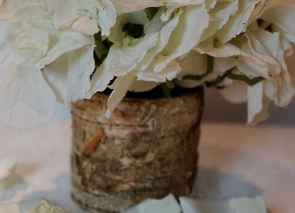 Vase Birke (nur für Blumen geeignet)