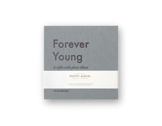 COFFEE TABLE PHOTOALBUM - FOREVER YOUNG