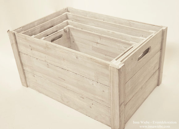 graue Kisten 3er-Set