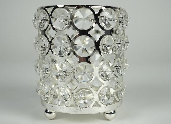 Teelichtvase Kristall