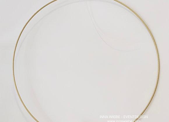 goldener Kreis groß zum aufhängen