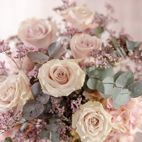 Frischblumenstrauß Violetta Größe S
