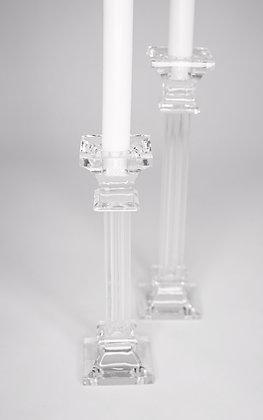 Glaskerzenhalter Elegant groß