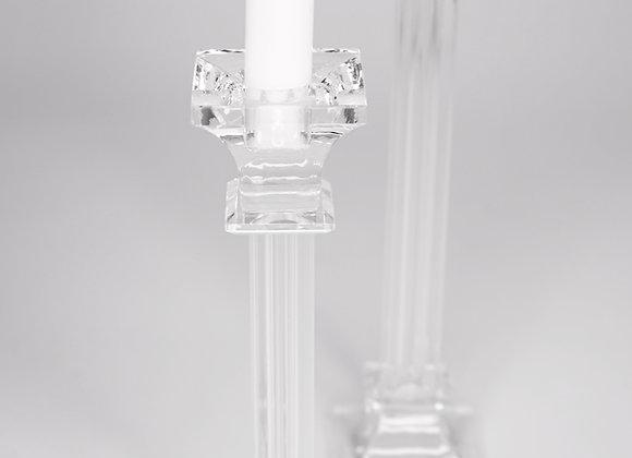 Glaskerzenhalter Elegant klein