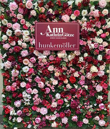 Flowerwall Bunt 2m Breite (ohne Logo)