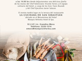 Día Mundial de la Paella en Marquis Reforma