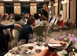 Cata de Vinos Israelíes en El Financiero