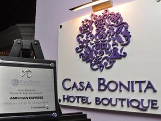 Entrega de Placa a Casa Bonita Hotel Boutique & Spa