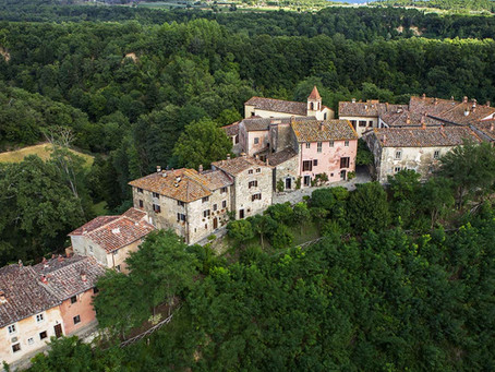 Degustando los vinos de Il Borro