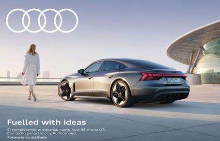 Inicio de una nueva era: Audi RS e-tron GT