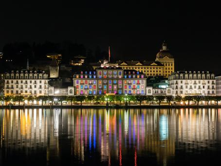 A Orillas del Hermoso Lago de Lucerna