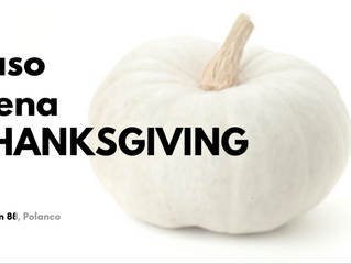 Cena Thanksgiving en Jaso