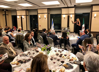 Cata de Vinos Israelíes en Club Piso 51