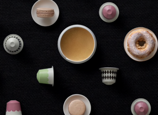 India Mahdavi y Nespresso se unen en una dulce colección de cápsulas