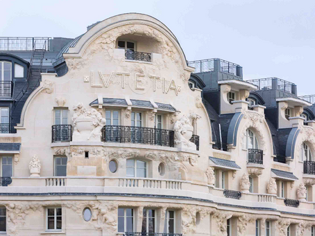 A Homage to Parisian lifestyle: Lutetia Hotel
