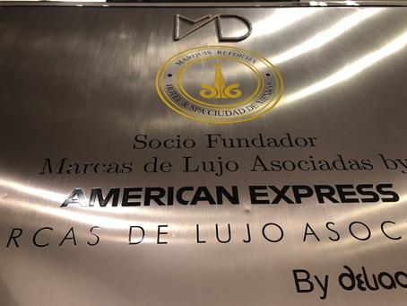 Entrega de Reconocimiento de Marcas de Lujo Asociadas by American Express a Marquis Reforma Hotel &a