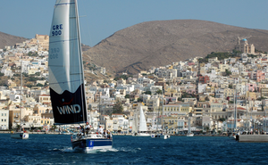 Ciudad de Ermúpoli en la isla de Siros © Greek National Tourism Organization Foto de P. Dimitrakapoulos