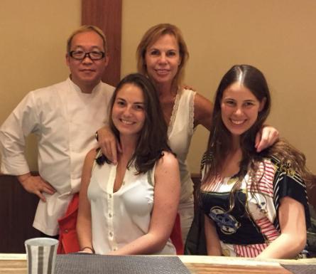 Con el maravilloso Chef Yasuo Asai