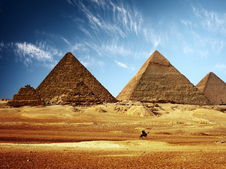Tierra de Faraones. Destino: Egipto