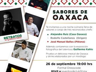 Sabores de Oaxaca en Piso 51