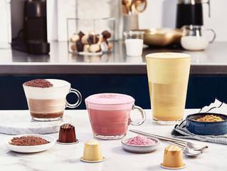 Golden Turmeric Latte con Nespresso