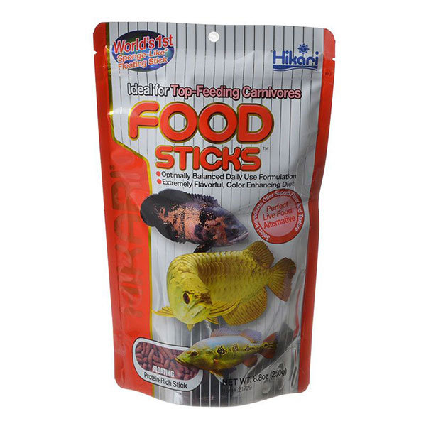 Hikari Food Sticks - Top Feed Carnivorous Fish