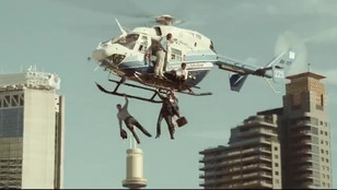 Rexona - Stunt City