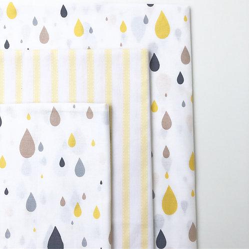AlaLunaBebe Rainy Bebek Nevresim Takımı