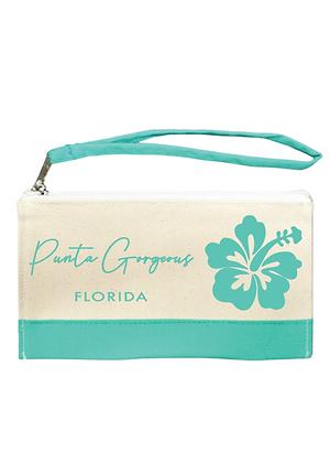 Punta Gorgeous Florida Hibiscus Wristlet