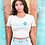 Thumbnail: Punta Gorgeous Florida Script Scoop Neck Tee