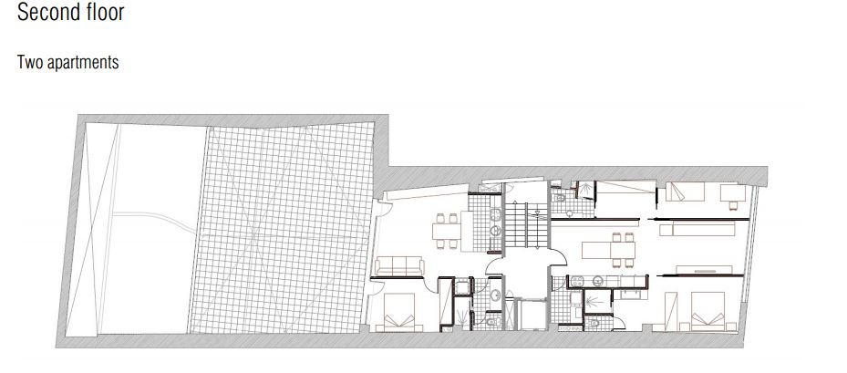 מתוכנן - קומה שנייה ברצלונה