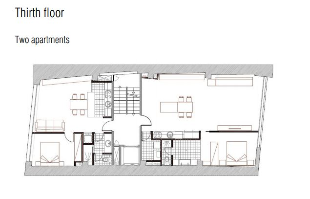 מתוכנן - קומה שלישית ברצלונה