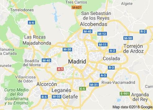 מפת נדלן מדריד