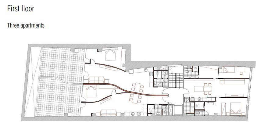 מתוכנן - קומה ראשונה ברצלונה