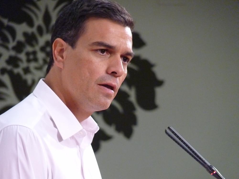 פדרו סאנצ'ס, ראש מפלגת PSOE