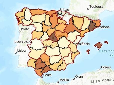 ממשלת ספרד מציגה סטטיסטיקות על נתוני השכירות בכל רחבי ספרד