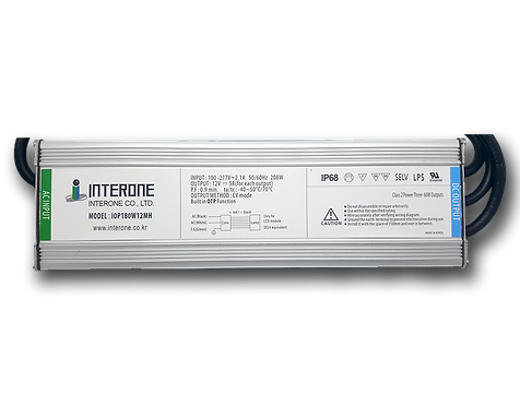 180W - 12VDC SMPS with 110-277 VAC Input