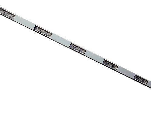 LED Tracks for 3xLED Lens Type, White, 50 Sets