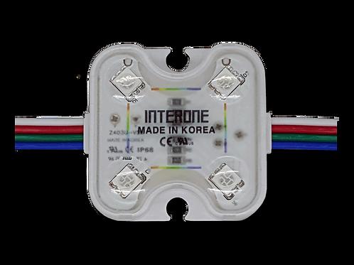 RGB 4xLED Lens, 100 Modules